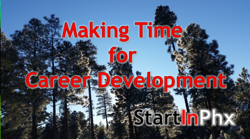 Scheduling Time for Career Development