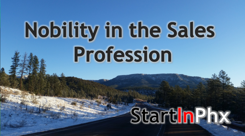 Nobility in Salespeople