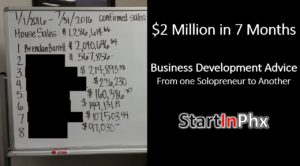 success in sales and business development