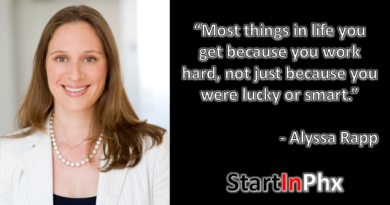 Serial Entrepreneurship Alyssa Rapp