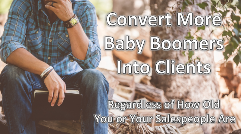 Millennials Salespeople Baby Boomer
