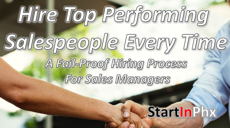 hiring great salespeople